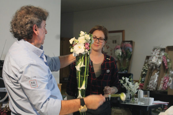 Demonstração de Arte Floral 2018
